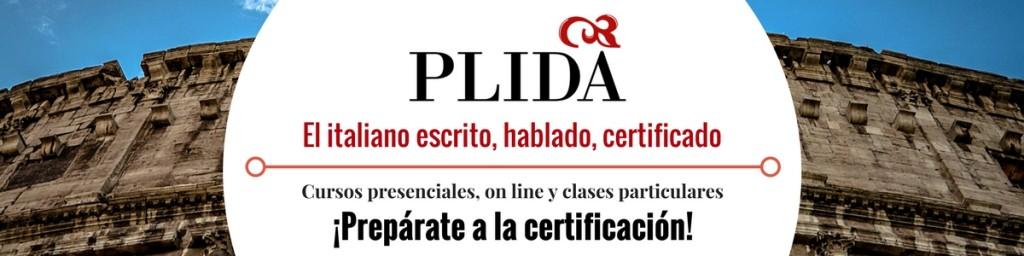 La Certificación de Italiano PLIDA. Charla informativa